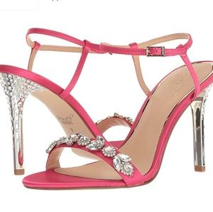 Jeweled Badgley Mischka Sandals